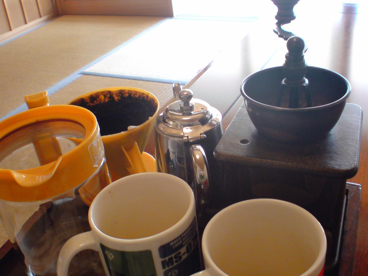 食後のコーヒーの後は
